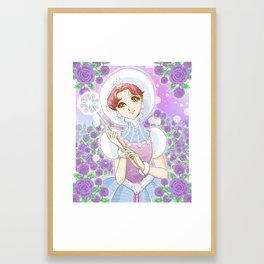 Glass No Kamen Framed Art Print
