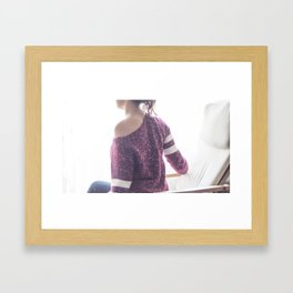Back Framed Art Print