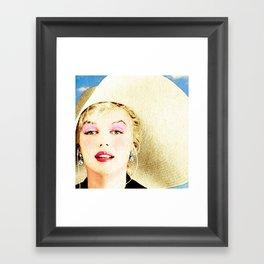 norma jeane august 2016 Framed Art Print