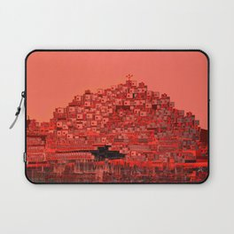 Living The Living Coral Laptop Sleeve
