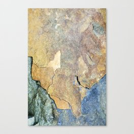 Abstract Stone Canvas Print