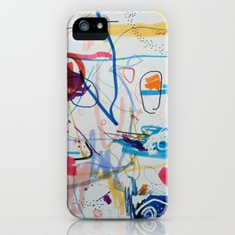 Remixed sister iPhone Case