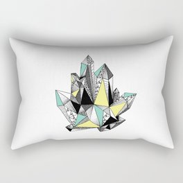 Crystal 4-white Rectangular Pillow
