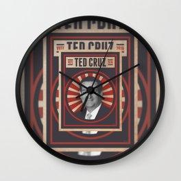 Vote Ted Cruz 2016 Wall Clock