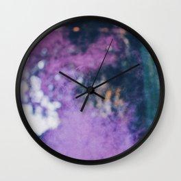 The Purple Haze Wall Clock