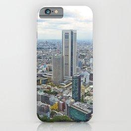 Tokyo Japan Megapolis Skyscrapers Houses Cities megalopolis Building iPhone Case