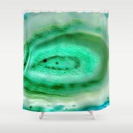 Jade Agate Shower Curtain