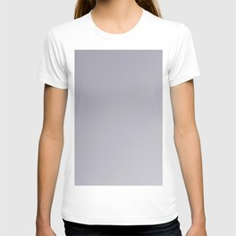 modern lilac-gray ombre gradient T-shirt
