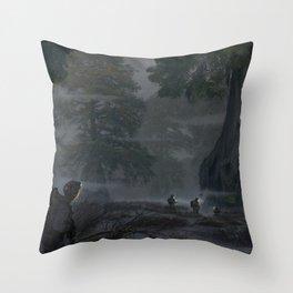 Brume Throw Pillow