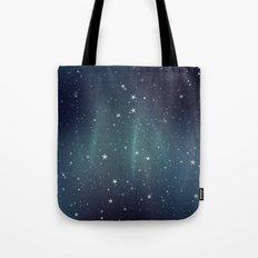 Aurora Stars Tote Bag