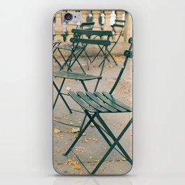 Bryant Park Terrace Sitting iPhone Skin
