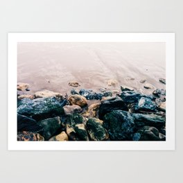 bolinas rocks Art Print