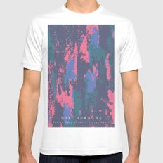The Horrors - Monica Gems (Daniel Avery Remix) MEDIUM Mens Fitted Tee White