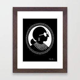 I Dissent Framed Art Print