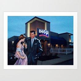 Date Night Art Print