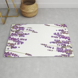 Purple Lavender #2 #decor #art #society6 Rug