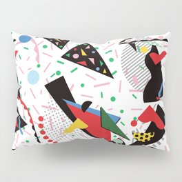 Postmodern Dinner Plates Pillow Sham