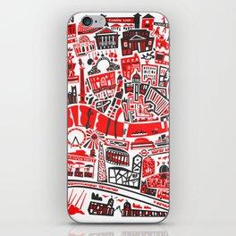London Map iPhone Skin
