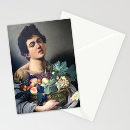 Caravaggio - Boy with a Basket of Fruit Stationery Cards