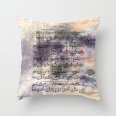 Chopin - Nocturne Throw Pillow