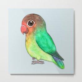 Cute fisheri lovebird Metal Print