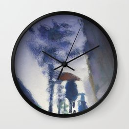 Trottoir miroir Wall Clock
