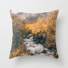 Isle of Skye, Panorama Throw Pillow