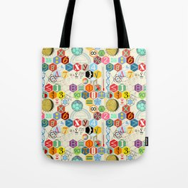 Math in color (little) Tote Bag