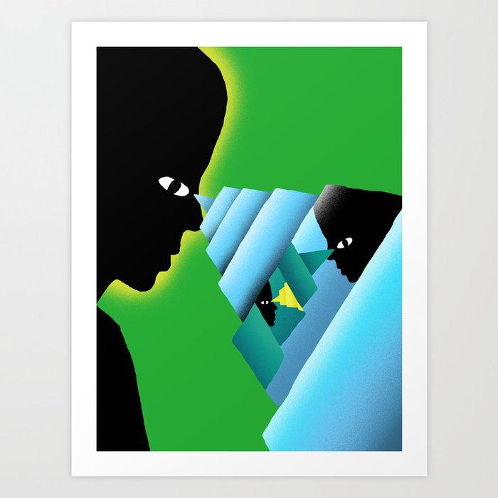 """Power"" by Daniel Zender for Nautilus Art Print"