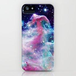 Unicorn Horsehead Nebula iPhone Case