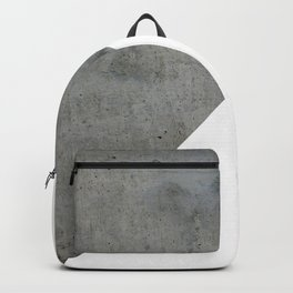 Concrete Vs White Backpack
