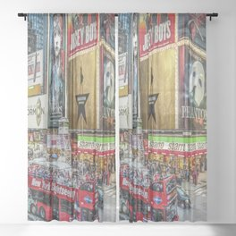 Times Square II Special Edition I Sheer Curtain