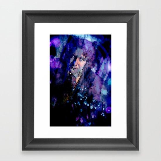 The Eighth Doctor Framed Art Print