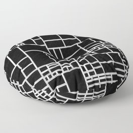 BW Pattern PHIL Floor Pillow