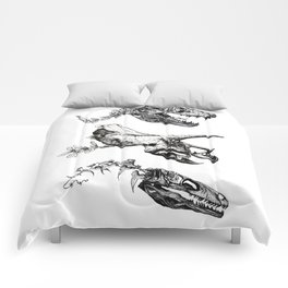 Jurassic Bloom. Comforters
