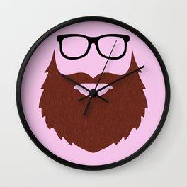 Bearded Mac Guy Wall Clock