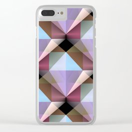 Facets 4 Clear iPhone Case