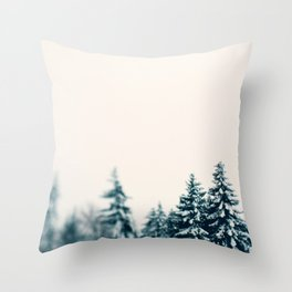 Forest and Friends Throw Pillow