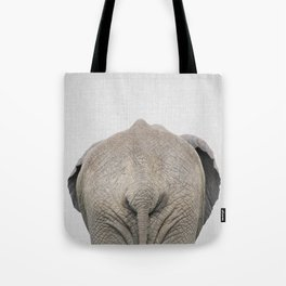 Elephant Tail - Colorful Tote Bag