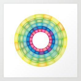 Grid Study Art Print