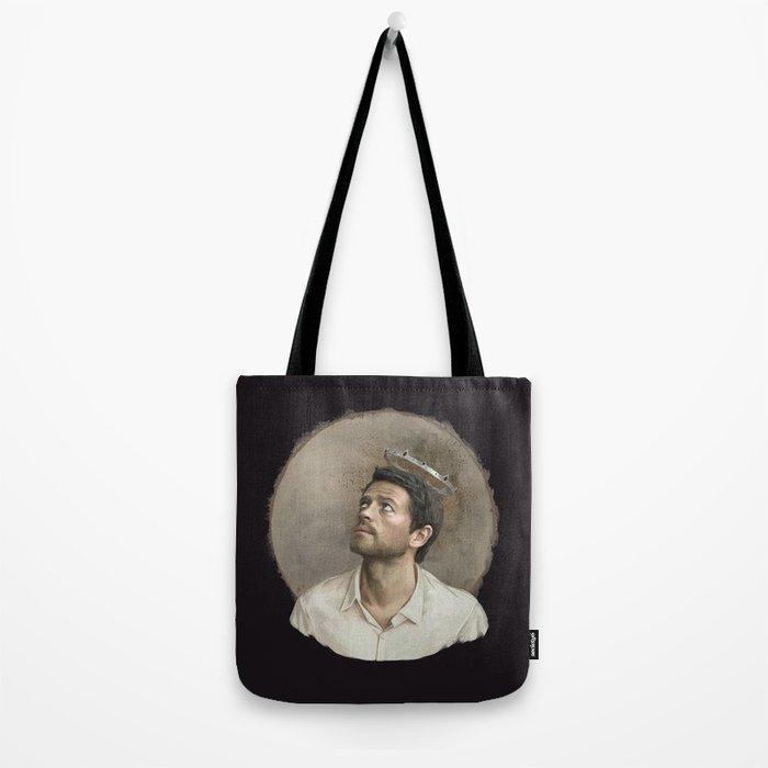 Castiel. White crown. Tote Bag
