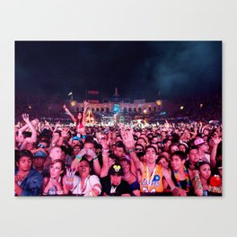 Kinetic Field Canvas Print