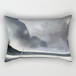Forgotten battleground Rectangular Pillow