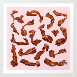 Bacon, Fried Art Print