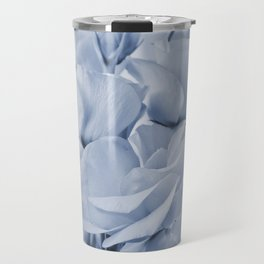 Soft blue lisianthus - Hampton Style Travel Mug