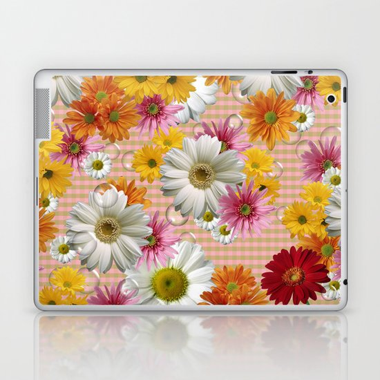 Retro Country Flowers Laptop & iPad Skin