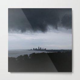 Cleveland Skyline #4 Metal Print