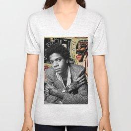 Tattooed Basquiat Unisex V-Neck