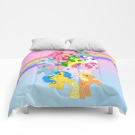retro g1 my little pony Comforters