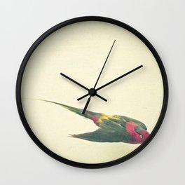 Bird Study #4 Wall Clock